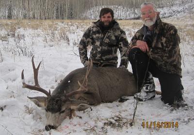 High Country Mule Deer Hunt