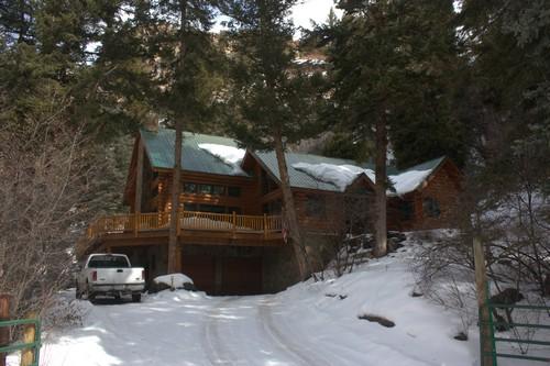 Lodge in Flat Tops Wilderness Area