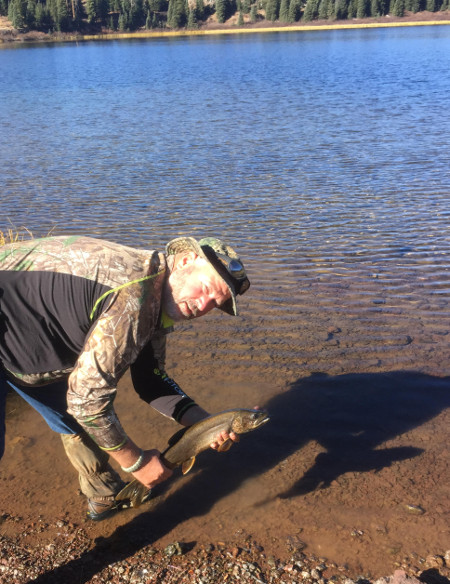 Rim Lake Fishing Flat Tops