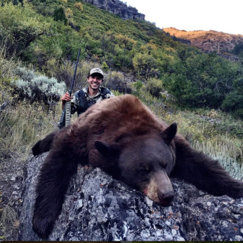 Cliff Gray Flat Tops Wilderness Area Bear Hunting