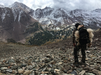 Cliff Gray Mountain Hunting Guide