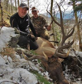 Colorado Lodge Elk Hunts