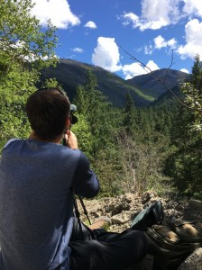 Cliff Gray Glassing in British Columbia