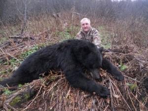 Black Bear Hunt British Columbia